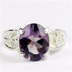 Amethyst, 925 Sterling Silver Ladies Ring, SR369