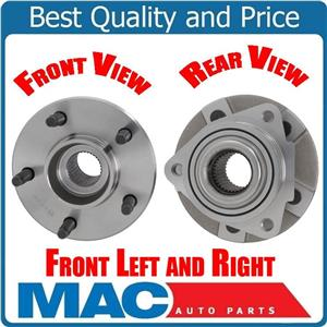 (2)  FRONT WHEEL BEARING HUB ASSEMBLY Fits 02-07 VUE WITHOUT ABS Brakes