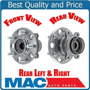 Axle Bearing and Hub Assembly, (2) Rear 07-2011 Elantra Rear With 4W ABS Braking
