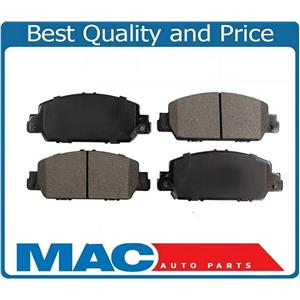 Front Ceramic Brake Pads (4) Left & Right Fits Honda HR-V AWD & FWD