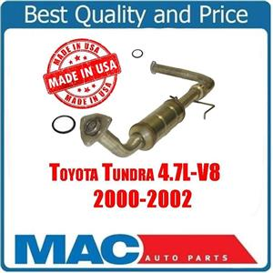 2000-2002 Toyota Tundra 4.7L D/S New Catalytic Converter Gaskets
