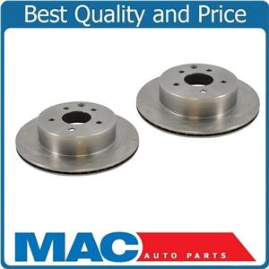 (2) Rear Disc Brake Rotor Rear Fits For 92-1995 BMW 318Is 325I