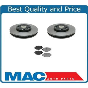 For 92-00 Lexus SC400 99-00 SC300 (2) Frt Brake Rotor Pads Kit Rotors