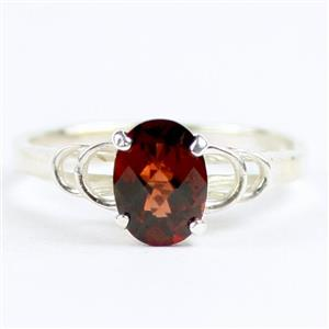 SR300, Mozambique Garnets, 925 Sterling Silver Ladies Ring