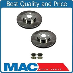 Fits Toyota Celica & Scion 2005-2010 TC Front Brake Ceramic Pads & Rotors
