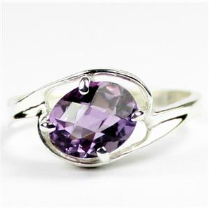 SR186, Amethyst, 925 Sterling Silver Ring