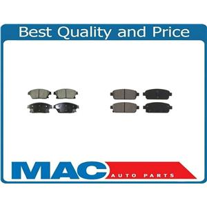 Fits For 13-16 Encore 12-16 Verano 14-16 Trax Front & Rear Dash4 Ceramic Pads