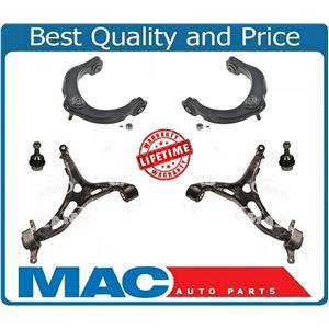 Front Lower & Upper Control Arms With Ball Joints 11-15 Grand Cherokee Durango