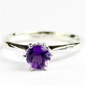 SR311, Amethyst, 925 Sterling Silver Ladies Ring