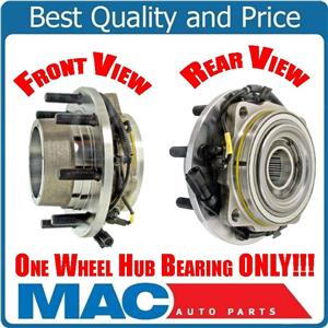 (1) WHEEL BEARING & HUB ASSEMBLY Fits 05-10 F350 Super 4x4 With Dual Rear Wheels