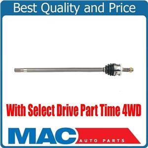 CV Axle Shaft Pass Side Fits 99-04 Grand Cherokee With Select Drive Part Time