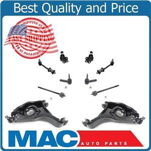 00-03 Durango 00-04 Dakota Rear Wheel Drive Ball Joints Low Control Arms 10Pc