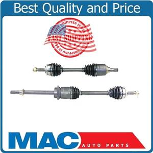 For 98-01 Altima W Manual Trans (2) 100% New D/S P/S Front CV Shaft Complete