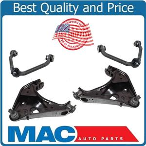 Fits For 95-2001 Explorer Upper Lower Control Arm & Ball Joints Bushings 4Pc