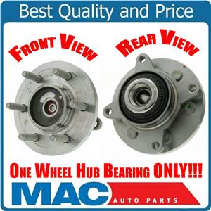 (1) FT WHEEL BEARING & HUB ASSEMBLY Fits 07-10 Expedition 4x4 8 Year Warr