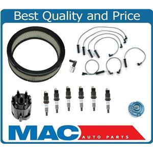 89-92 S10 2.8L V6 Pick Up Ignition Spark Plug Wires Air Filter Plugs PCV 11Pc Kt