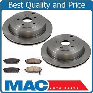 REAR Brake Disc Rotors & Ceramic Rear Disc Pads fits for 06-14 Subaru B9 Tribeca