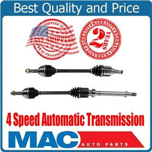 Front Left & Right CV Axle Fits For 07-12 Nissan Versa 1.8L S 4 Speed A/T ONLY