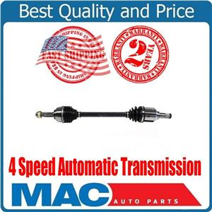 Front Driver Side CV Axle For 2007-2012 Nissan Versa S 1.8L 4 Speed A/T ONLY