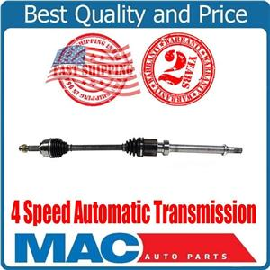 Front Passenger Side CV Axle For 2007-2012 Nissan Versa S 1.8L 4 Speed A/T ONLY