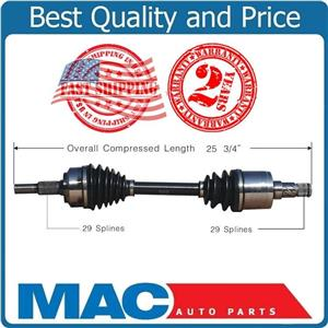 CV Axle Shaft Front D/S NCV82500 WITH LIMITED SLIP DIFFERNTIAL 06-10 Commander