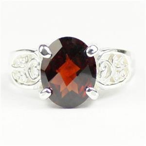 Mozambique Garnet, 925 Sterling Silver Ladies Ring, SR369