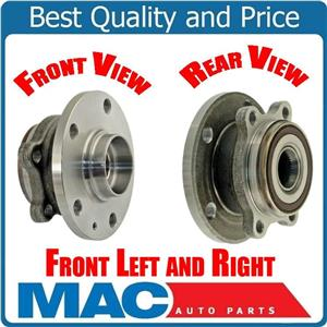 Front left & Right Bearing Hub Assembly For 06-16 Jetta With 4 Lugs Wheels