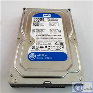 "Dell 1WR32 500GB 7.2K SATA 3.5"" WD5000AAKX Western Digital Blue"