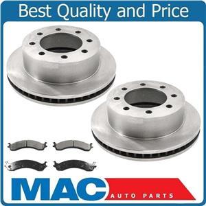 00-02 Dodge Ram 2500 3500 F Brake Rotors & Ceramic Pads 5393 CD821