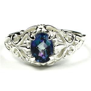 Neptune Garden Topaz, 925 Sterling Silver Ladies Ring, SR113