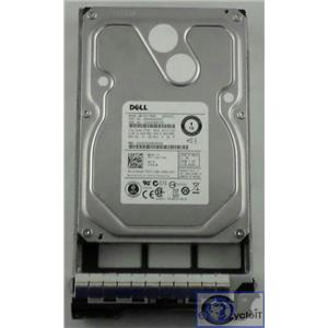 "Dell 1TB 3.5"" 7200 RPM SAS 6.0 Gbps 16MB Cache 7KXJR Hard Drive w/ R-Series Tray"