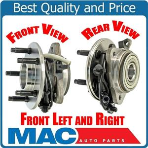 (2) 100% New Front Hub Bearing Assembly's  Fits for 95-01 Explorer 4 Wheel drive