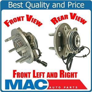 (2)  Pro Date 11/29/04 to 08 F150 4x4 W 6 Lug Wheel Bearing Hub Assembly
