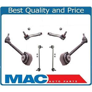 6 Pcs Kit Fits 08-15 C300 C350 E350 4Matic Models Control Arms Tie Rods Links