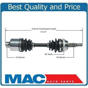 Front Right CV Drive Joint Half Shaft Brand New PT Cruiser M/T 2003