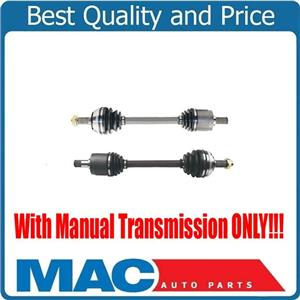 (2) 100% All New CV Axles Shafts for Accord 2.3L 98-02 with Manual Transmission