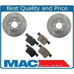 For 12-16 BMW 328I 312MM Front Brake Disc Rotors With Ceramic Disc Brake Pads