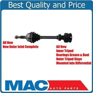 CV Drive Axle Shaft With Complete Outer Joint Fits Saab 9-3, 900