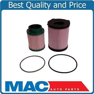 New for Nissan 16-18 Titan XD 5.0L (2) Diesel Fuel Filters Recommeded Service