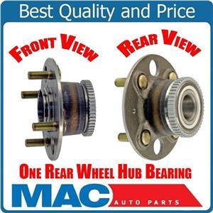 Honda Civic 01-05 (1) Rear Wheel Hub Bearing Assembly 100% New Tested
