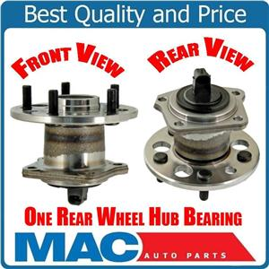 (1) 100% New Torque Tested For 1998 to 2003 Toyota Sienna REAR Axle Hub Assembly