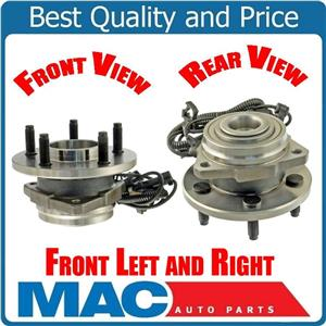 02-07 Liberty Left & Right Hub Wheel Bearing Bearings w ABS 100% Torque Tested