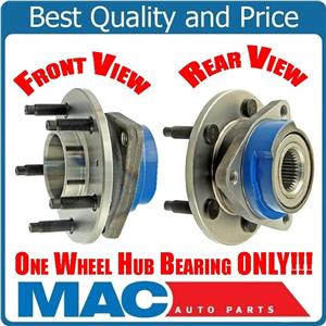 For 00-08 Chevrolet Impala Without ABS (1) 100% All New Front Wheel Hub Bearing