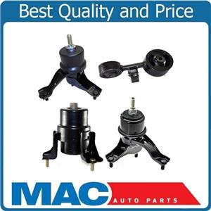 4 Pcs Engine Motor Mount Fits 02-06 Toyota Camry 2.4L Automatic Transmission