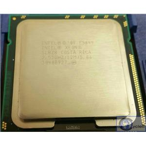 Lot of 2 Intel Xeon E5649 SLBZ8 80W Six-Core 2.53GHz 12M Cache 2.53 GHz