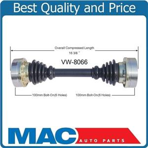 Rear Cv Shaft Axle for Axle for Volkswagen Thing 1973-1974