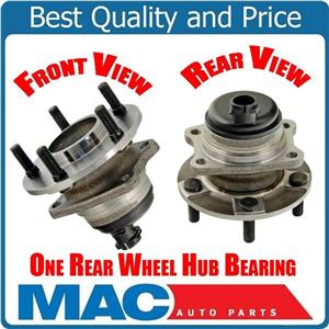 01-07 Town & Country Bearing and Hub (1) 100% New Rear With 4 Wheel ABS Brakes