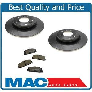 2003-2005 Mazda 6 (2)   Rear Brake Rotors & Rear Pads