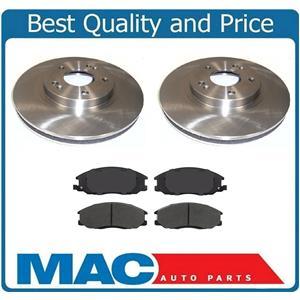 11.5 Front Brake Rotors & Ceramic Pads 16 Rim Check Info for 01-06 Santa Fe