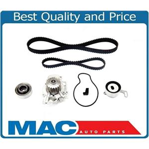 For Acura CL 97-99 Accord 94-02 2.2L 2.3L Water Pump & Timing Belt Kit Tensioner